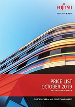 Fujitsu October 2019 price list