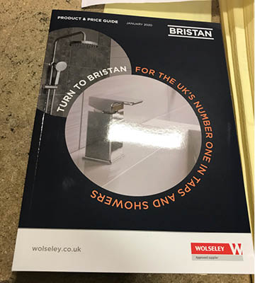 Bristan/Wolseley Product Guide